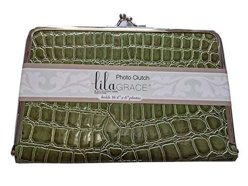 Lila Grace Photo Clutch, Holds 16-4