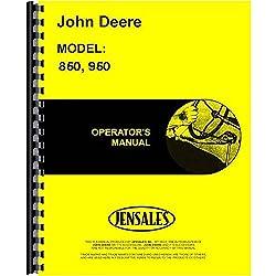 New Operators Manual For John Deere 850 Tractor (C