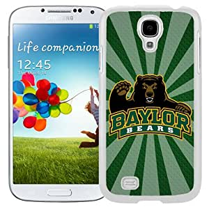 Fashionable And Unique Custom Designed With NCAA Big 12 Conference Big12 Football Baylor Bears 6 Protective Cell Phone Hardshell Cover Case For Samsung Galaxy S4 I9500 i337 M919 i545 r970 l720 Phone Case White