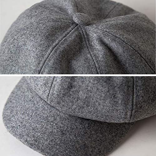 Invierno Acmede Octagonal Beret Sombrero Fr Mujer Paraguas q7wXWydTz