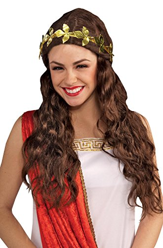 Roman Laurel Wreath Gold Leaf Headband Women's Costume Accessory (2)