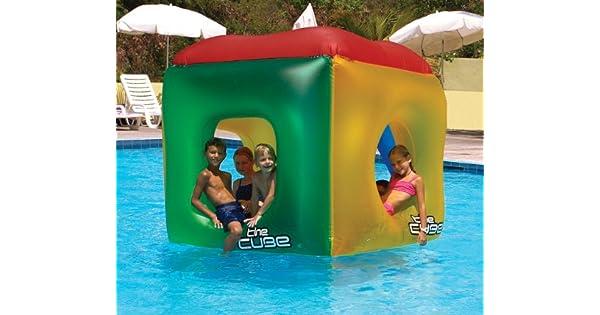 Amazon.com: Cubo de juguete inflable para piscina Swimline ...