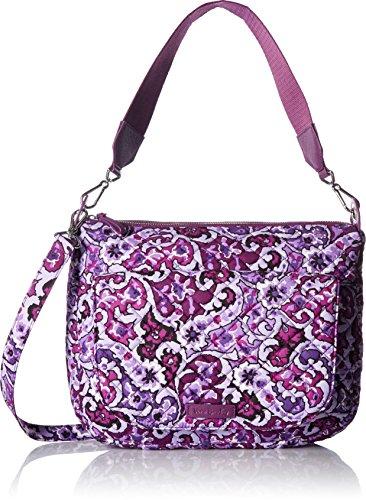 Vera Bradley Carson Shoulder Bag, Lilac Paisley