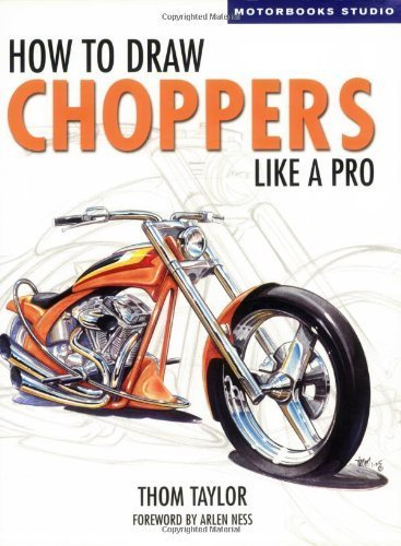 how to draw choppers like a pro - 3