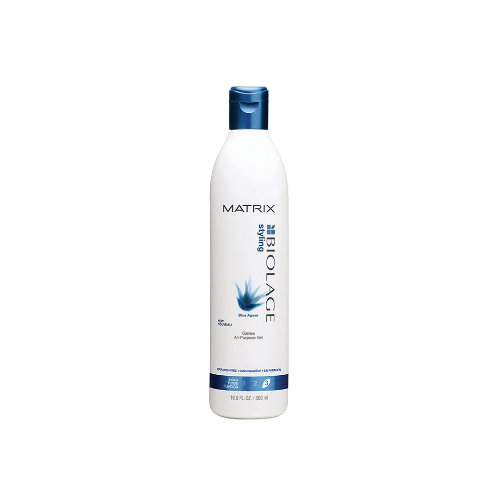 Biolage Styling Blue Agave Gelee Firm Hold Gel by Matrix for Unisex - 16.9 oz Gel 884486156907