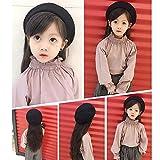 Adela Boutique Unisex Babies Woolen Berets Solid