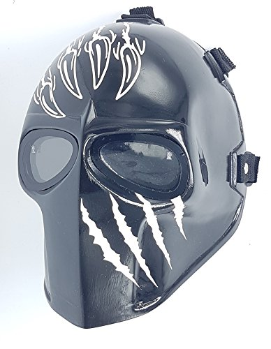 Airsoft Full Face Mask Army of two Cosplay Halloween mask Paintball Ghost Masks -