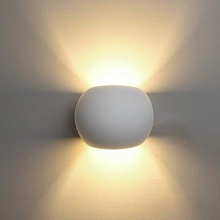 YF-WJ Aplique Pared Interior LED Lámpara De Pared Moderna Blanco Cálido Salon Dormitorio Sala Pasillo Escalera: Amazon.es: Hogar