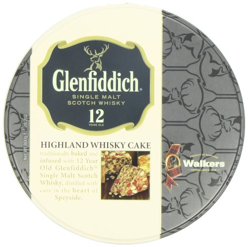 Walkers Shortbread Glenfiddich Highland Whisky Cake, 28.2 Ounce Tin Traditional Scottish Fruit Cake with Glenfiddich Malt Whisky, Cherries, Sultanas by Walkers Shortbread (Image #12)