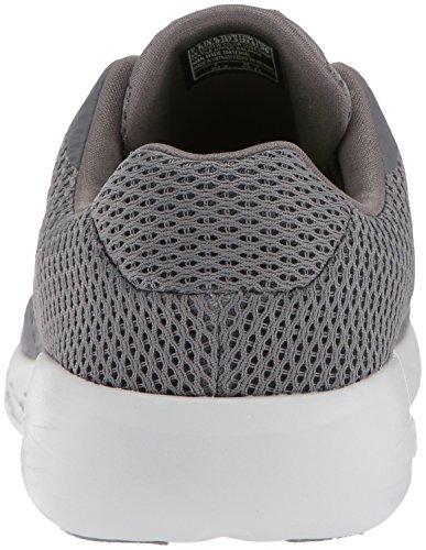 Skechers Womens Go Run 600-refine Sneaker Charcoal