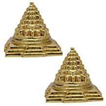 Siddhratan Combo Of Two Meru Shree Yantra For Vastu, Positive Energy, With beautiful BagCombo Of Two Meru Shree Yantra For Vastu, Positive Energy, With beautiful Bag