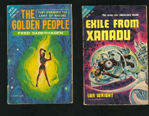 Image for The Golden People & Exile From Xanadu An Ace Double Book