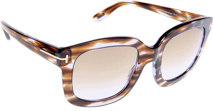 Amazon.com: Tom Ford anteojos de sol Para Mujer FT0279 ...