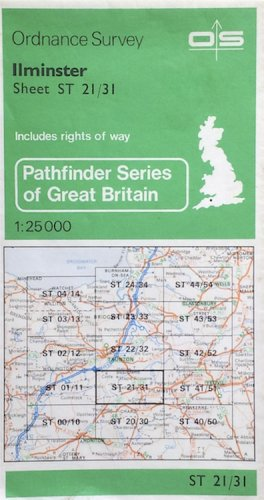 Pathfinder Maps: Ilminster Sheet 1278 (ST21/31)