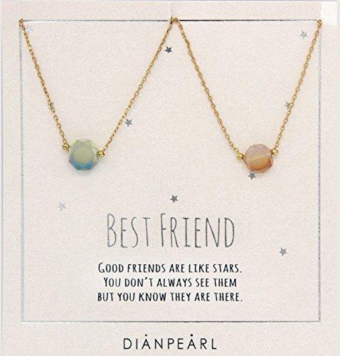 best-friend-necklace-bff-necklace-friendship-necklace-for-2-gold-dainty-necklace-gemstone-necklace