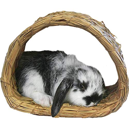 Peter's Woven Grass Hide-A-Way-Hut (House Hiding Rabbit)