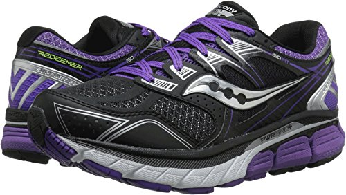 Saucony Women's Redeemer Iso Running Shoe, Silver/Grey, 8.5 M US