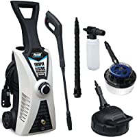 Pulsar 1800 PSI Electric Pressure Washer with Two Brushes