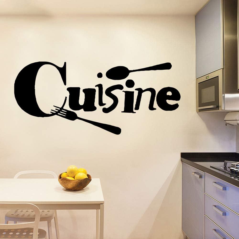 TYLPK Cuisine Wall Stickers Self Adhesive Art Wallpaper Modern