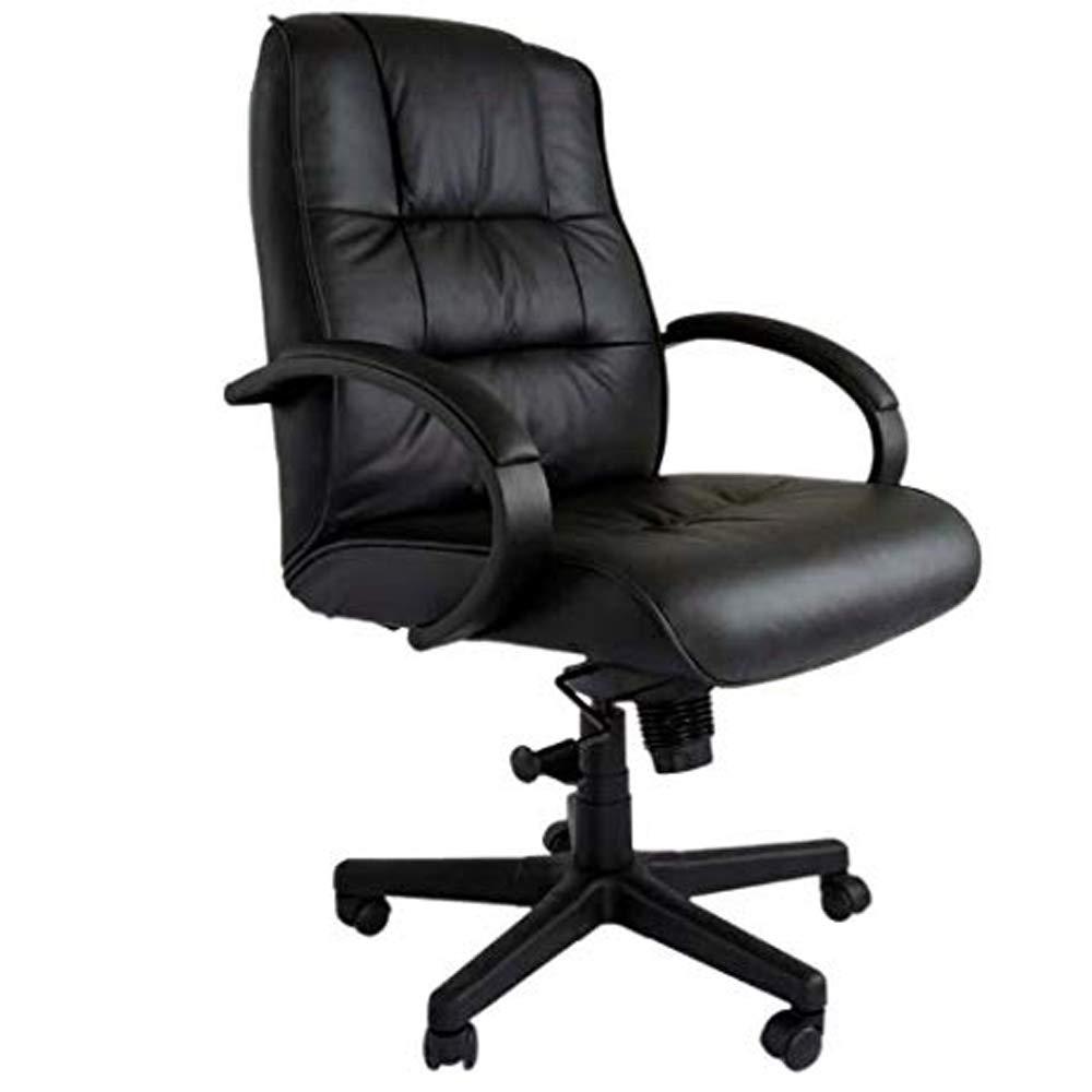 Magnificent Mahmayi Atvor 708 1 Executive Leather Low Back Chair Black Creativecarmelina Interior Chair Design Creativecarmelinacom