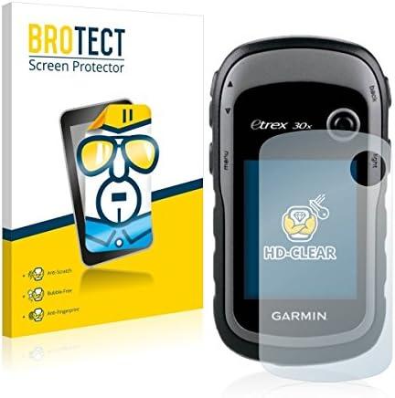 kristallklar, extrem Kratzfest, schmutzabweisend 2X BROTECT HD Clear Displayschutz Schutzfolie f/ür Garmin eTrex 30x