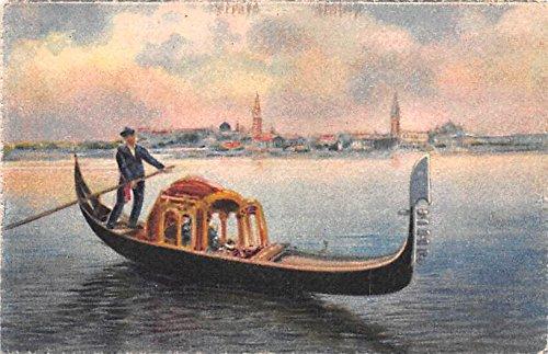 (Gondola Venezia Italy Postcard)
