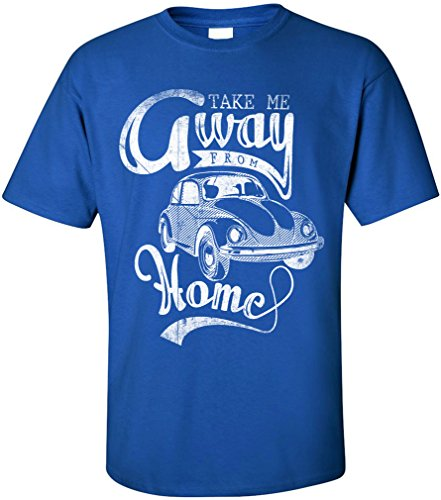 PAPAYANA TAKE-AWAY - Herren T-Shirt - OLD SCHOOL OLDTIMER KULT RETRO CAR  AUTO HIPPIE: Amazon.de: Bekleidung