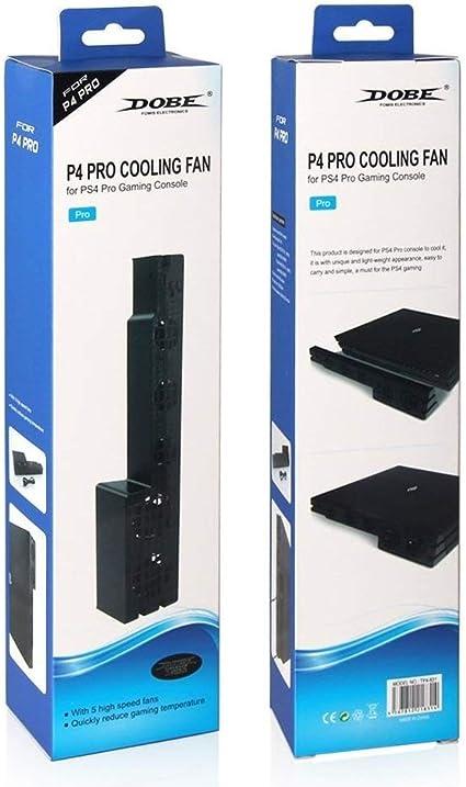 Dobe PS4 pro Ventilador de Refrigeración para Cómodo con Sony Playstation 4 pro Juegos Consola: Amazon.es: Videojuegos