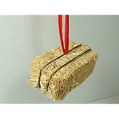Bale of Hay Western Cowboy Rope Horse Ridding Farm Christmas Tree Ornament  Made in the USA - Western Christmas Ornaments: Amazon.com