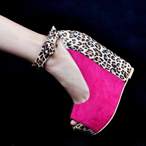 Kolnoo - Pantuflas de caña alta Mujer Rose