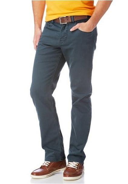 Pantalones Vaqueros Hombre 5 Bolsillos de Rhode Island ...