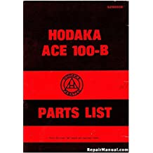 R-929550B 1971 Hodaka ACE100B Motorcycle Spare Parts Manual