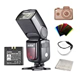 Photo : Godox Ving V860II-S 2.4G HSS 1/8000 TTL Li-on Battery V860II Camera Flash Speedlite for Sony A7 A7R A7S A7II A7RII A58 A99 A6000 A6300 Camera