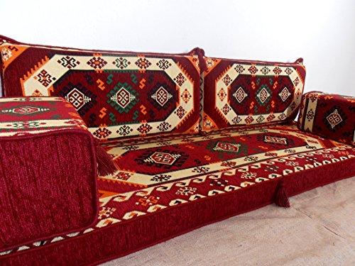الأثاث العربي , جالسا , مجلس , جلوس العربية ,furniture,oriental seating,arabic seating,floor cushions,arabic jalsa,majlis,hookah bar decor - MA 50