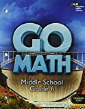 img - for Go Math!: Student Interactive Worktext Grade 6 2014 book / textbook / text book