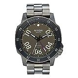 nixon ranger - Nixon A9411418 Ranger GMT All Gunmetal / Lum Men's Watch