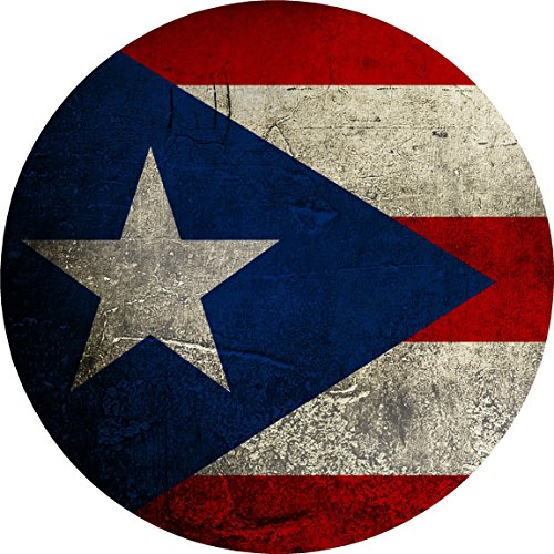 W29 PUERTO RICO FLAG Wall Decal Sticker HUGE - Vinyl Head Cornhole Wraps Fat Tint Quote Quotes Art Poster Image Corn Hole (Hunting Rico Puerto)