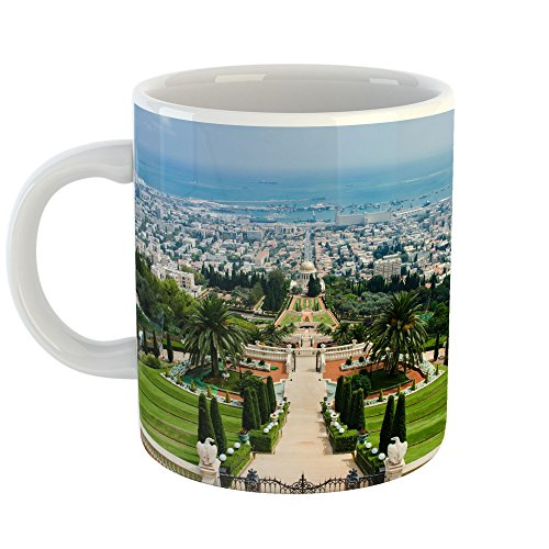 Westlake Art - Coffee Cup Mug - Terraces Landmark - Modern Picture Photography Artwork Home Office Birthday Gift - 11oz (*9m-233-427) (Terrace Coffee)
