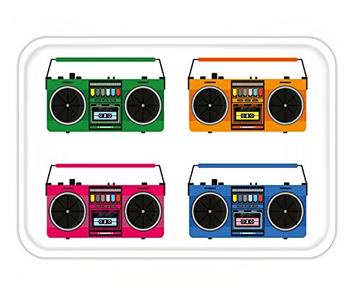 Anthropologie Flats (Beshowere Doormat flat vintage tape recorders set for audio cassettes music boombox modern trendy design for music)