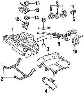 amazon genuine ford f81z 9b273 bn fuel return pipe assembly Ford Super Duty Wiring Diagram ford f7cz 9047 aa hose filler pipe