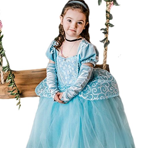 Cinderella Dress Princess Costume Party Dress 4-5y by CQDY (Image #6)