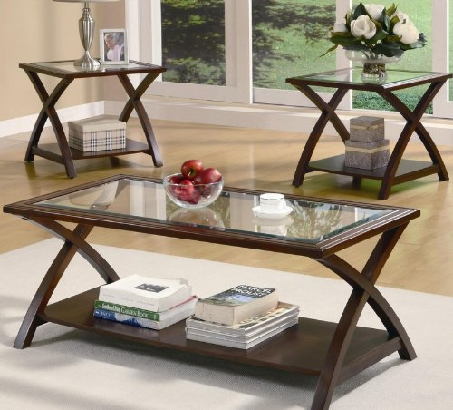 3pc-coffee-table-set-with-x-base-in-rich-cappuccino-finish