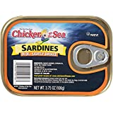 Chicken of the Sea Smoked Sardines In Oil, 3.75 Ounce (Pack of 18)