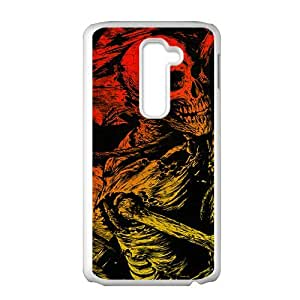 Battered human skeleton Phone Case for LG G2