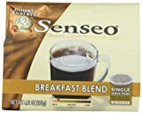 Senseo Coffee Pods, Breakfast Blend, 18 Count (Pack of 4)