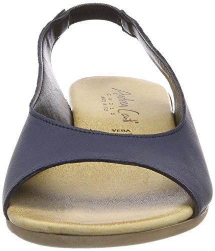 Andrea Conti 0955710, Women's Heels Sandals Blue (Dunkelblau 017)