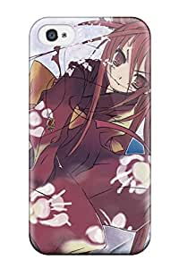 CATHERINE DOYLE's Shop Iphone 4/4s Case Cover - Slim Fit Tpu Protector Shock Absorbent Case (shakugan No Shana) 5860672K14336456