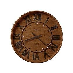 Howard Miller Wine Barrel Wall Clock Heirloom Oak Finish (625453)
