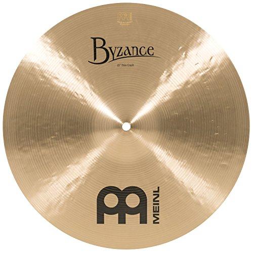 Meinl Cymbals B15TC Byzance 15-Inch Traditional Thin Crash Cymbal (VIDEO) ()