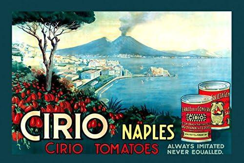 Tomato Sauce Boschi Luigi Parma Italy Food 16X20 Vintage Poster Repro FREE SH
